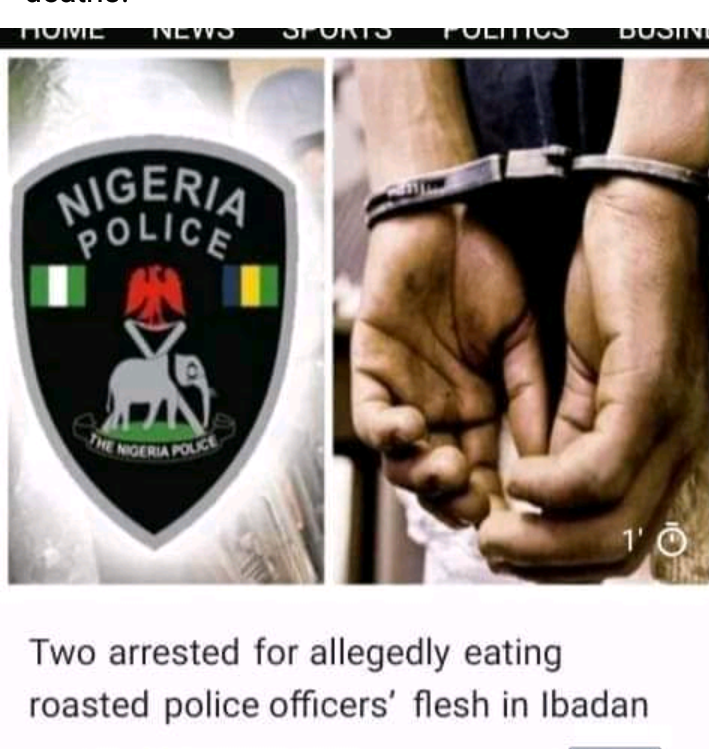 Pregnant lady, friend arrested for purportedly broiling, eating 2 Officers